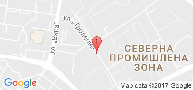 Стрелбищен Комплекс Комбат Карта