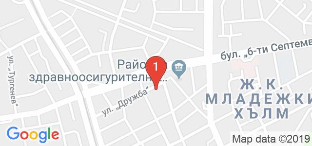 Проф. д-р Петър Петров Карта