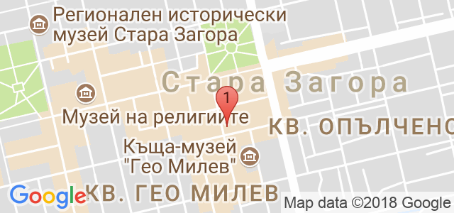 СТУДИО ЗА КРАСОТА - KOCETO STYLE Карта