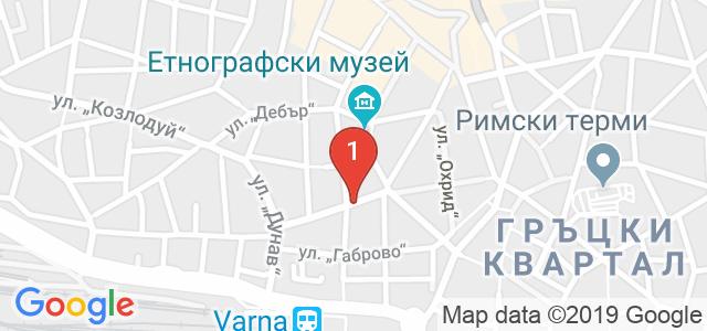 Ресторант Немо Карта