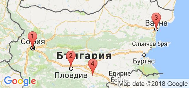 Центрове Енигма Карта