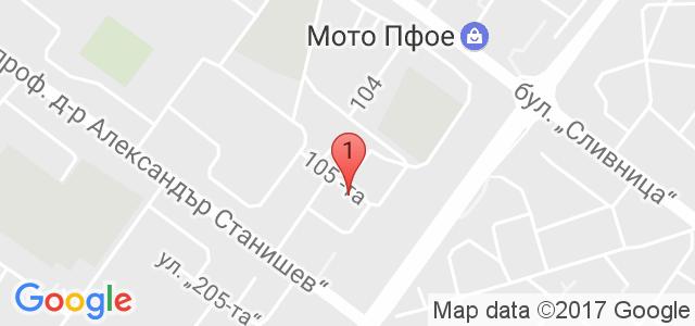 Парти-клуб Слънчо Карта