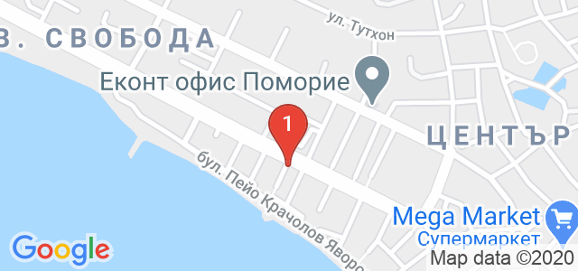 хотел Дюн Бутик Карта