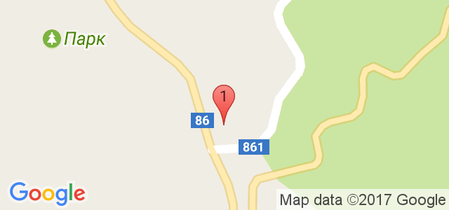 Хотел КООП Рожен 3* Карта