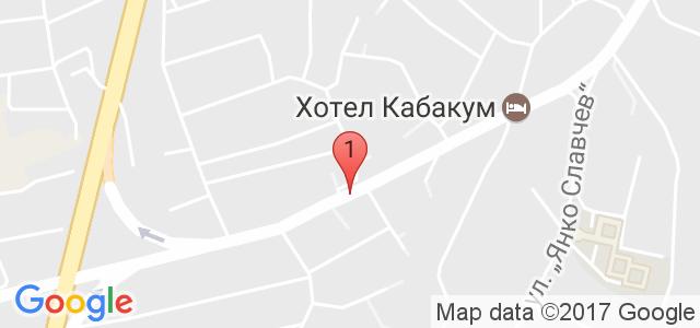 Хотел Райков ** Карта