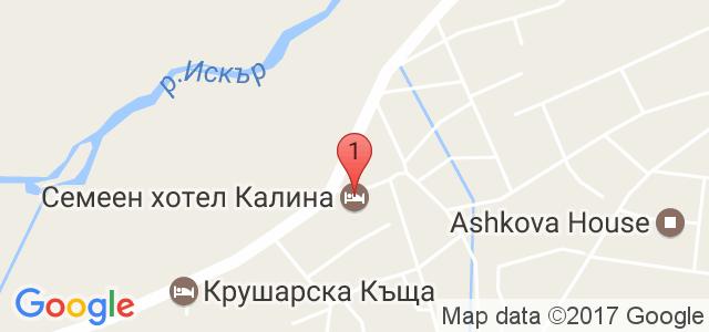 Арт хотел Калина Карта