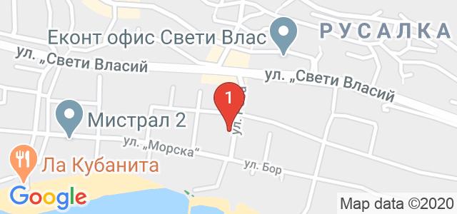 Хотел Корона Карта