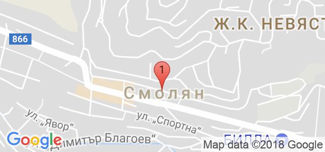 Х-л Силвър Хилс Карта
