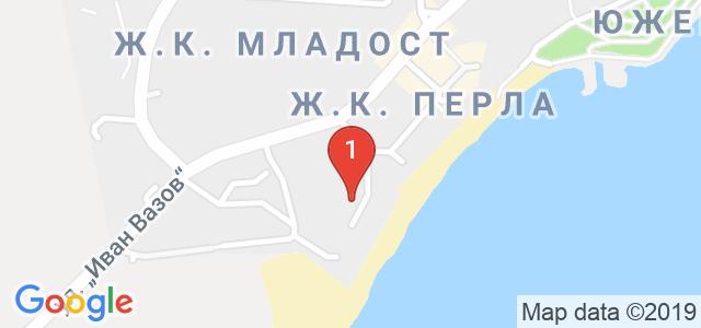Хотел Арсенал Карта
