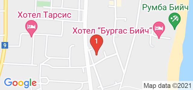 Парк хотел Континентал Карта