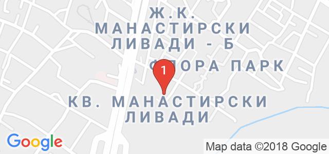 Криейтив кетъринг Карта