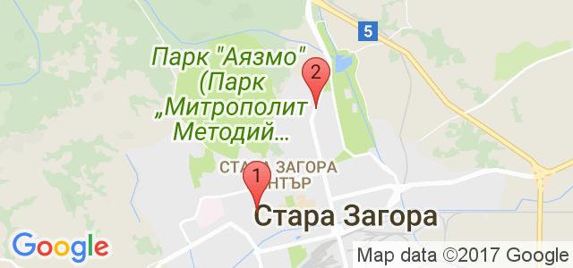 Верига ресторант Мерис Карта