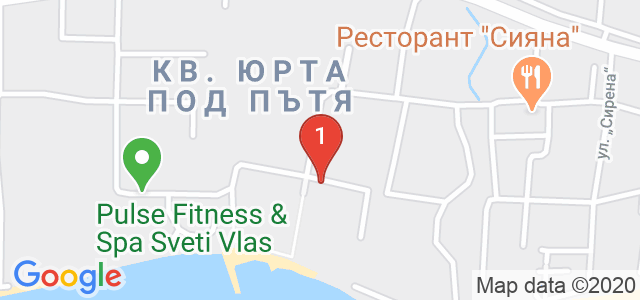 комплекс Хоризонт, Свети Влас Карта
