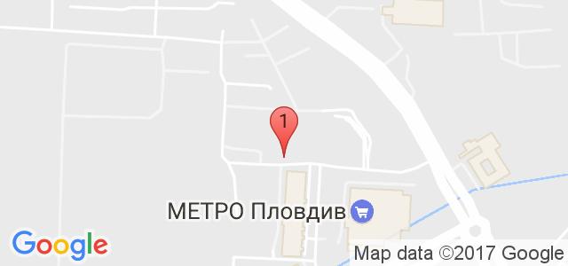 Детски център Happy land Карта