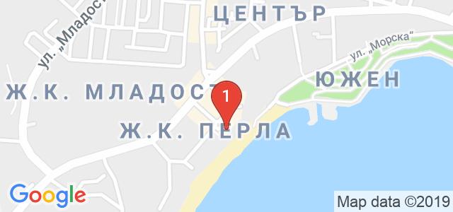 Хотел Мираж Карта