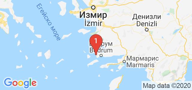 Arkain Tour Карта