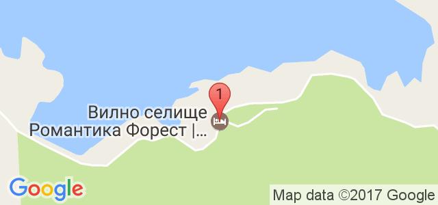 Вилно селище Романтика Форест Карта