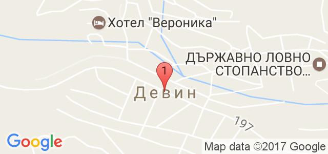 Спа Хотел Персенк  Карта