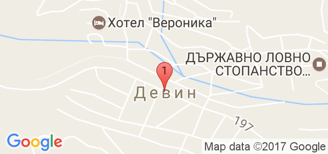 СПА хотел Орфей Карта