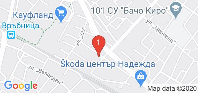 Ресторант Рай Карта