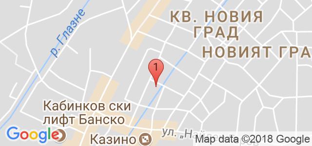 Хотел Френдс 3* Карта