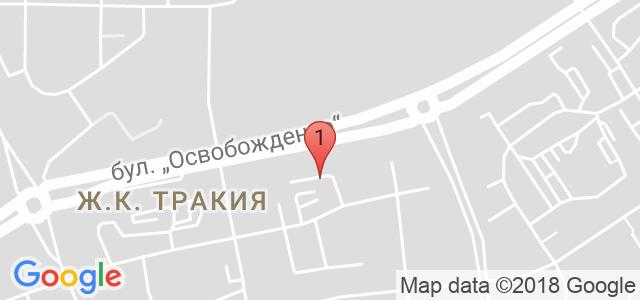 ресторант Водолей Карта