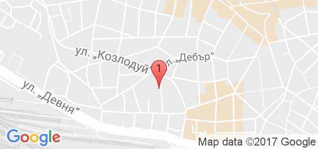Хотел Дионис Карта