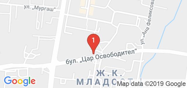 AJ Restaurant & Bar Карта