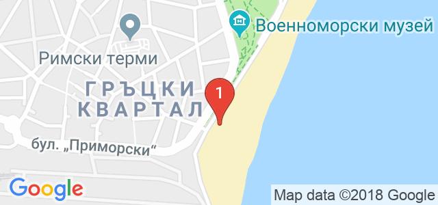 Танцов клуб Усмивки Карта