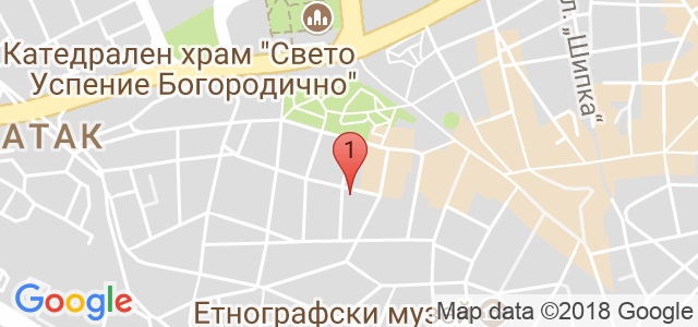 Козметичен салон Orchid Карта