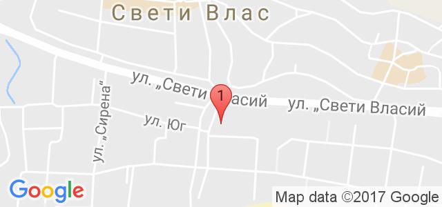 Биляна Сън Хоумс Карта