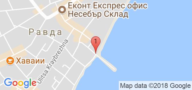 Хотел Бижу 3* Карта