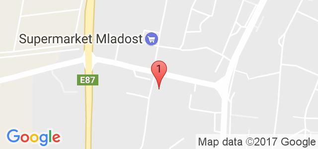 Хотел Дариус Карта