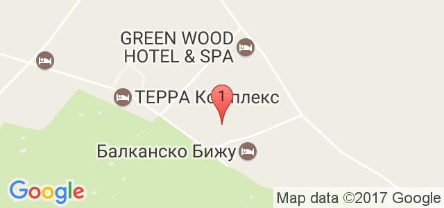 Хотел Балканско Бижу / Balkan Jewel Resort Карта