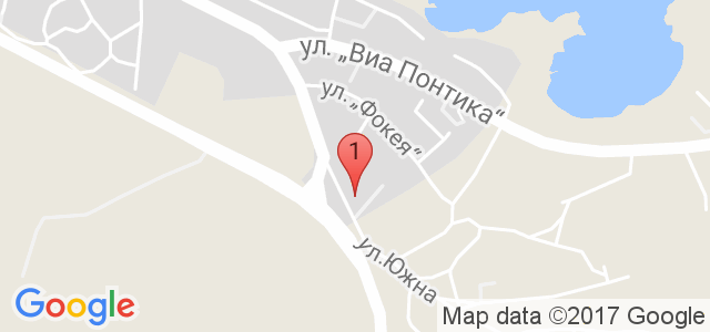 Хотел Созопол Пърлс 3* Карта
