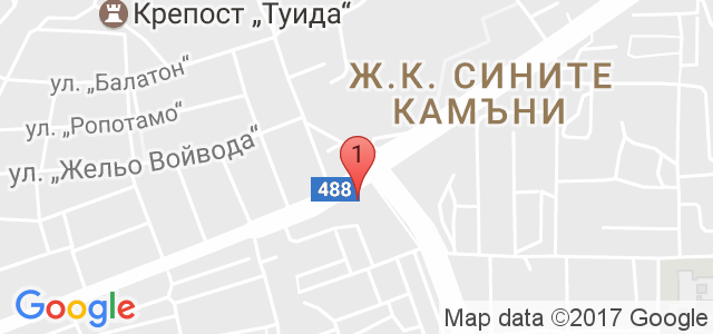 кафе-скуош клуб Карта