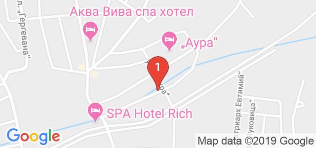 Бутиков Хотел Лъки Лайт 4* Карта