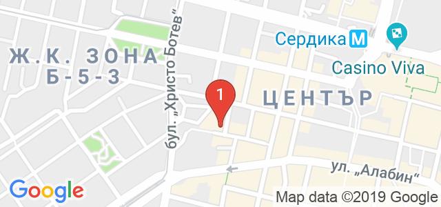 Свети Георги Софийски най-нови Карта