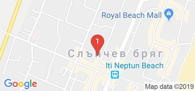 Хотел Риор Карта