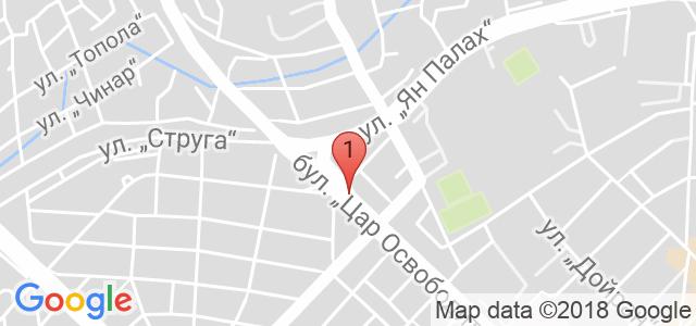 Авто сервиз Карта