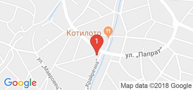 Хотел Александър Палас 3* Карта
