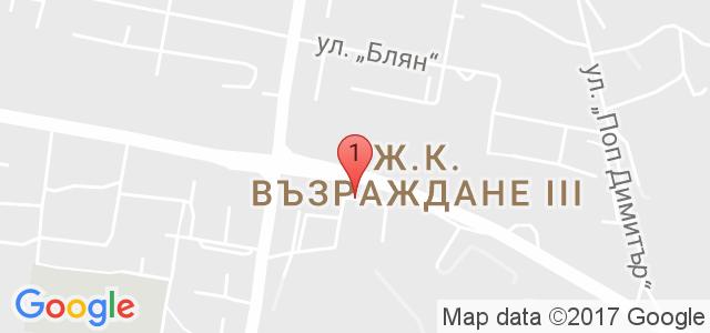 Център за автогуми Maxxis Карта
