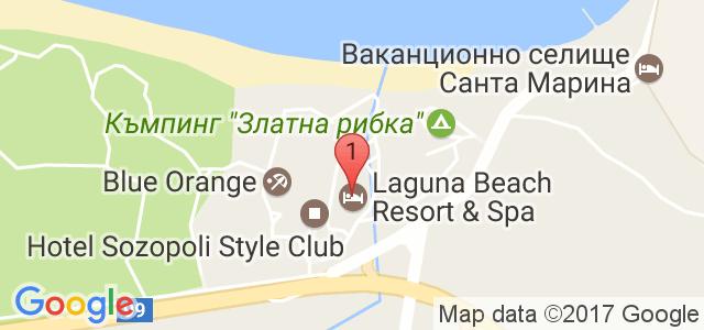 Laguna Beach Resort &SPA Карта