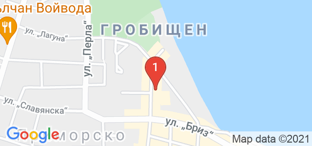 Хотел Перла Бийч I Карта
