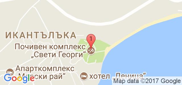 Свети Георги ризорт енд СПА Карта