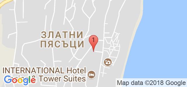 Хотел Мечта Карта