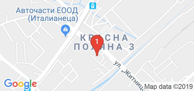 Автосервиз Нон Стоп Карта