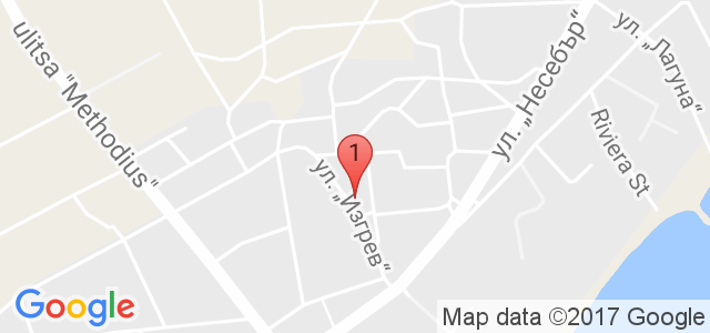 Къща за гости Сияние Карта