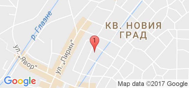 хотел Елегант Лукс****  Карта