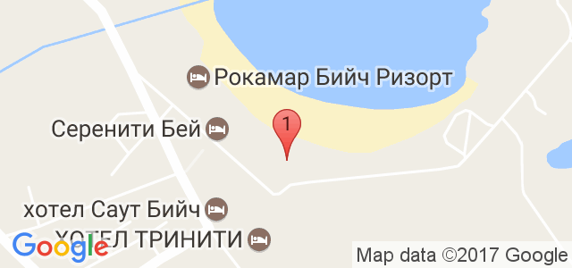 Хотел Реджина Бийч Карта